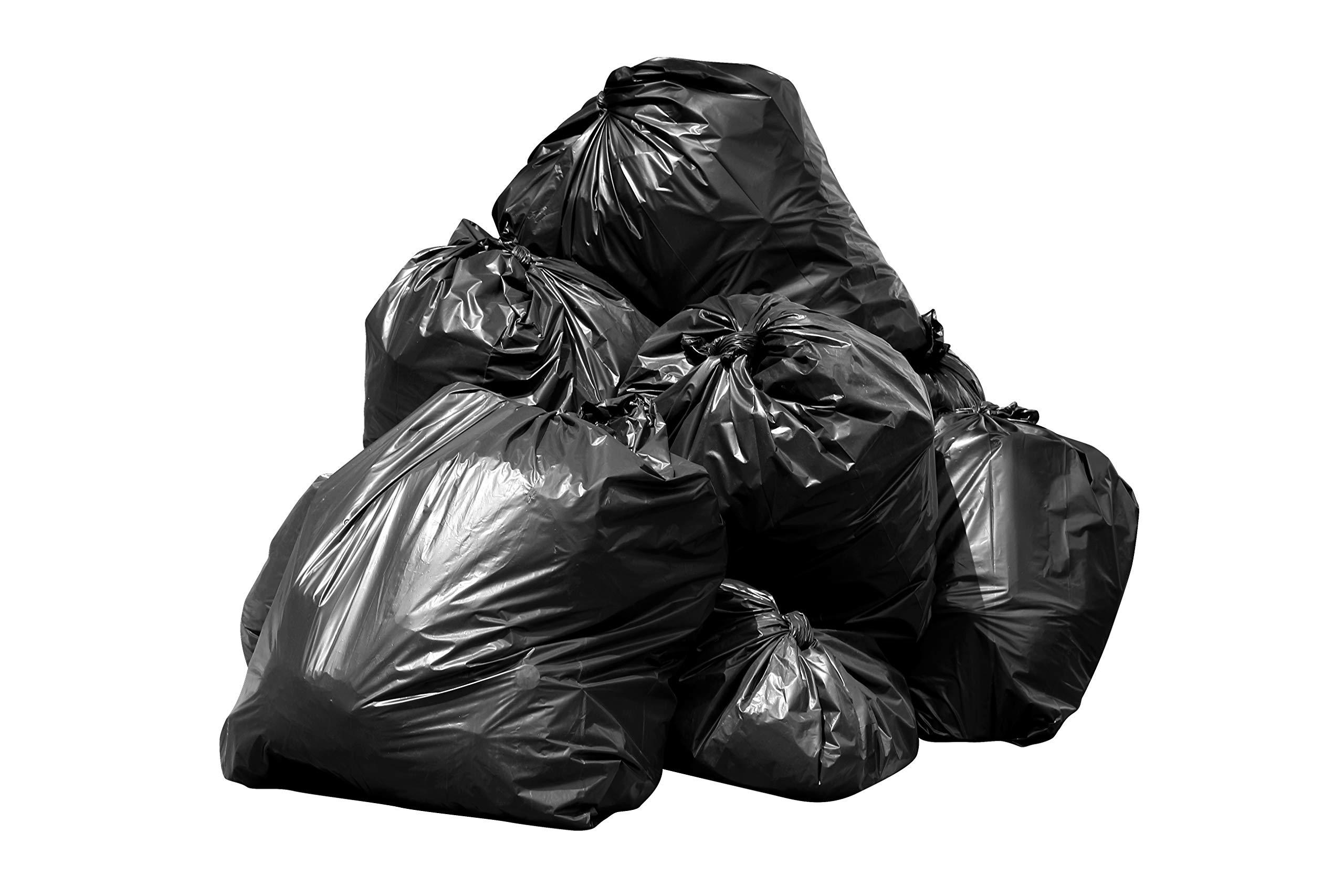 Toughbag 95 Gal Trash bags, Black, 2 Mil, 61x68, 25 Garbage Bags Per Case by ToughBag (Image #9)