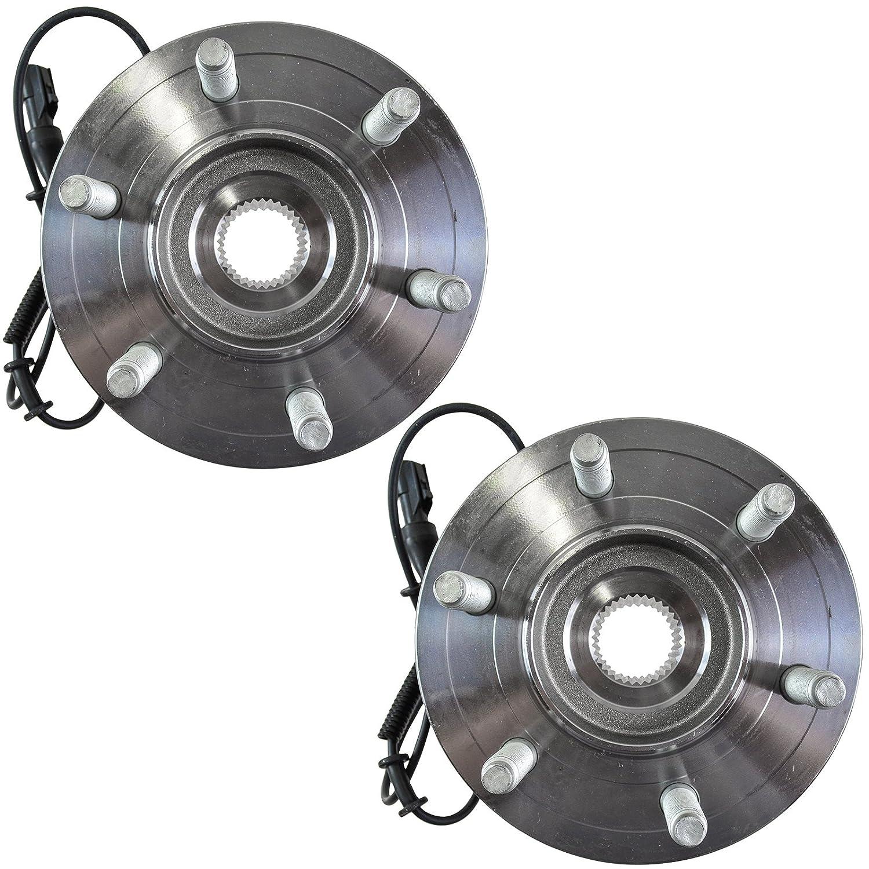 TRQ Rear Wheel Hubs /& Bearings Pair Set of 2 for 03-06 Expedition Navigator