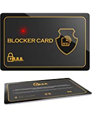 M.A.D. Protect RFID Blocker Karte mit LED - Hochwertiger RFID Schutz in Kreditkartengröße - Praktischer NFC Card Blocker für Sicherheit - Kartenschutz