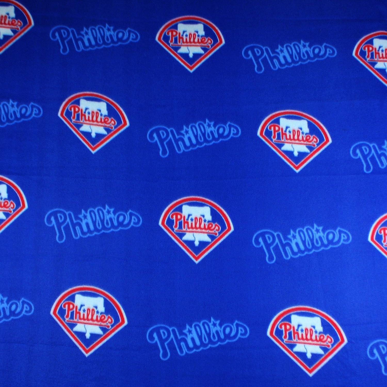 Northwest Philadelphia Phillies MLB Fleece Throw Blanket