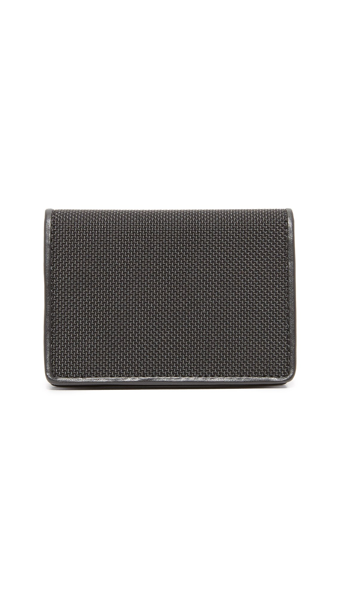 Tumi Alpha Gusseted Card Case with ID,Black,one size by Tumi (Image #3)