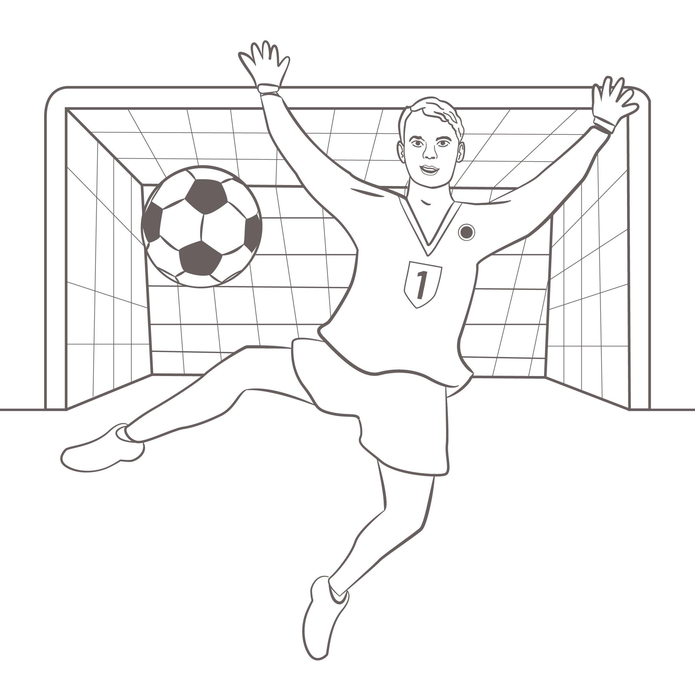 Tooor Fußballprofis Ausmalen Mit 50 Fußball Sticker Amazon De