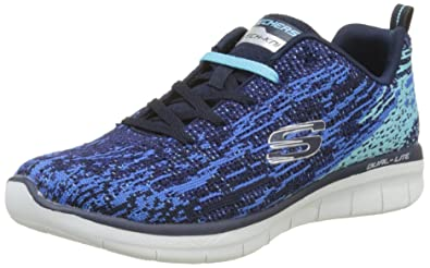 Skechers Damen Synergy Fitnessschuhe Blau (Nvy) 40 EU