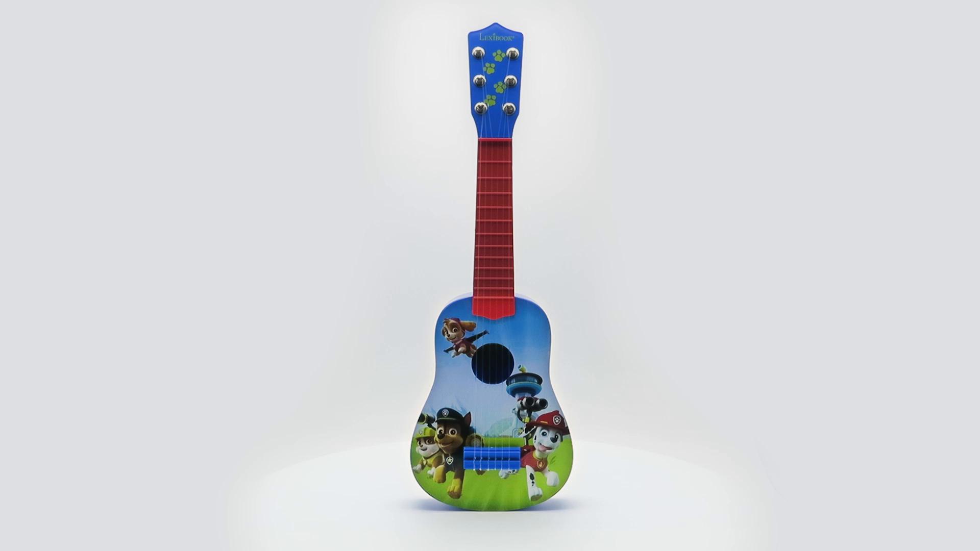 Lexibook K200PA La Patrulla Canina-Mi primera guitarra, 53cm, 6 ...