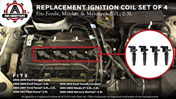 New Ignition Coil for Ford Focus 2003 to 2013