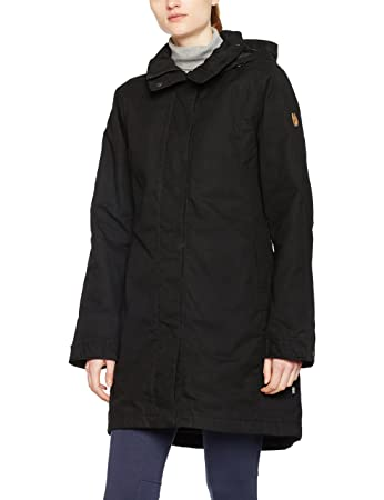 Amazon.com: Fjällräven Una duvet jacket Ladies black black: Sports ...