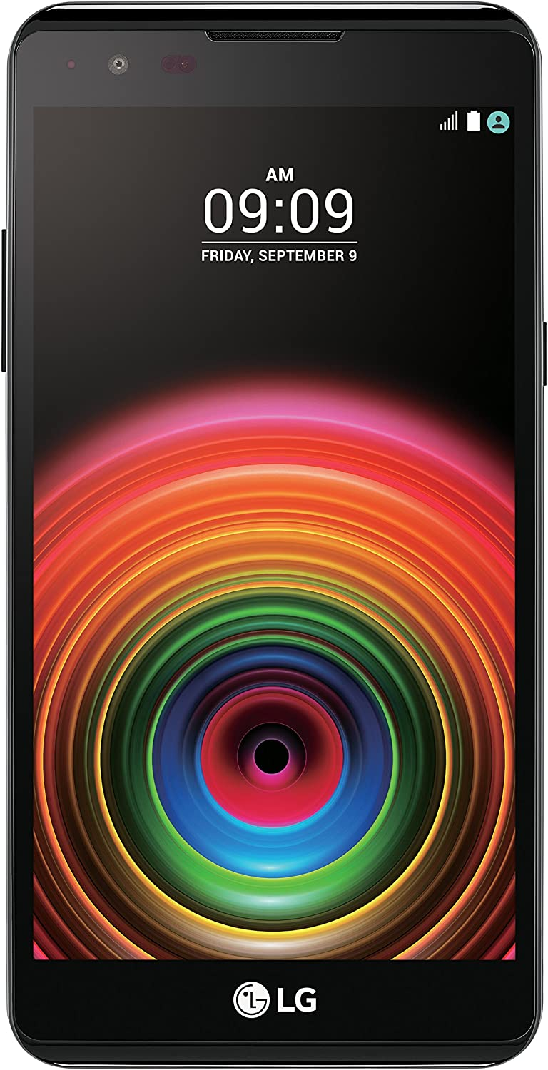 "LG X Power 16GB 5.3"" Screen with 4,100 mAh Battery, 4G LTE GSM Unlocked Smartphone - Black"