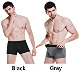 ASERLIN Men's 2 Pack Boxer Briefs Short Legs