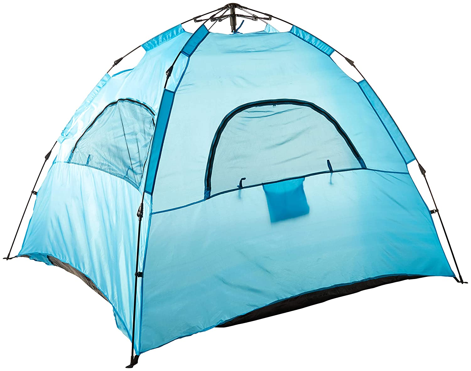AfterGen Easy Setup Beach Tent Portable Pull to Open Sun Shelter Strong UV Protection Sun Shade Sand Surf Instant Pop-Up Umbrella