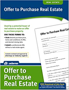 Adams Offer To Purchase Real Estate, Forms and Instructions (LF290)