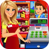 School Lunch Supermarket - Kids Grocery Food Maker Games FREE