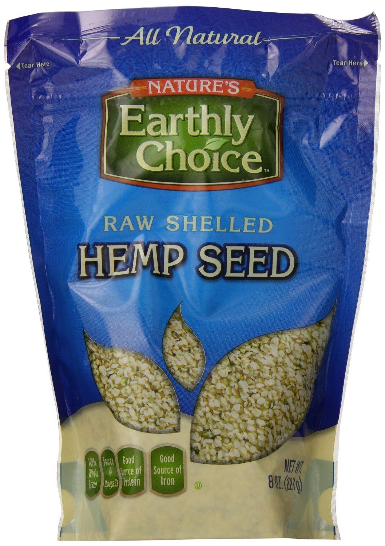 Natures Earthly Choice Seed Hemp Shelled
