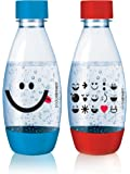 Sodastream PET-Flasche PET-Flasche 0,5L Duopack Kids Edition green, Orange