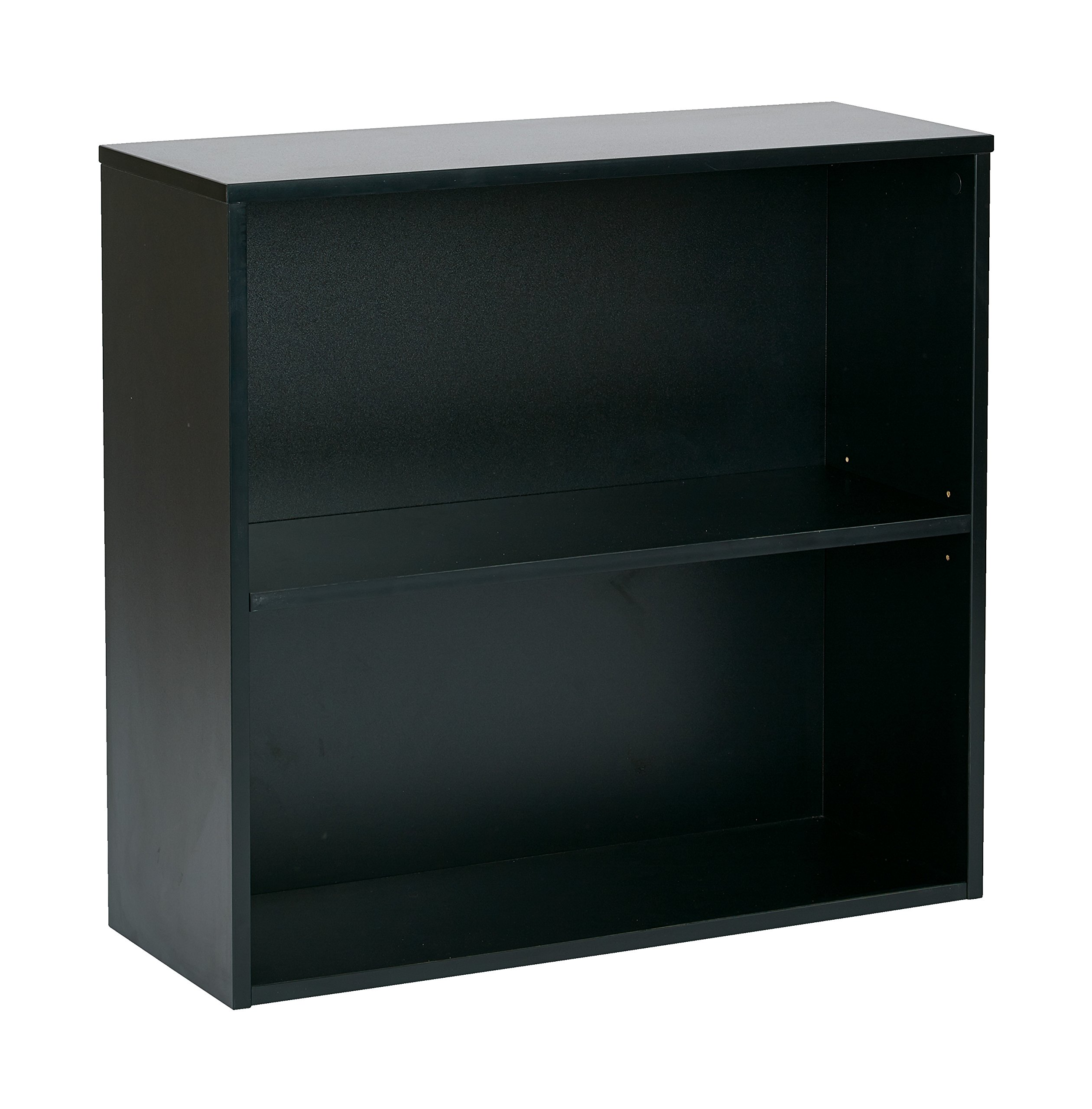 Pro-Line II / OSP Designs Prado 2 Shelf Bookcase, 30-Inch, Black