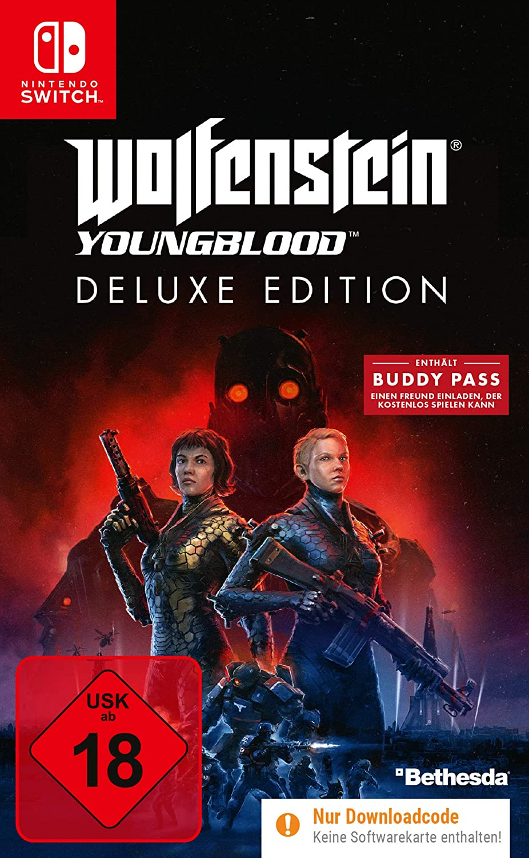 Wolfenstein Youngblood - Deluxe Edition (Deutsche Version) - Nintendo Switch [Importación alemana]