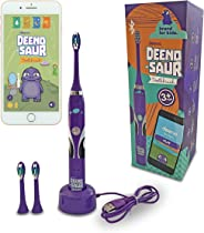 Deeno DEENO-Saur Rechargeable Electric Toothbrush Powered by Lithium Battery & USB Charging | Suitable for Ages 3+ Years | 5