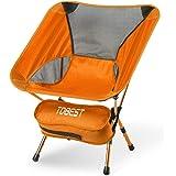 TDBEST アウトドアチェア キャンプ 椅子 折りたたみ 3段階伸縮調節 耐荷重150kg アルミ合金 超軽量 収納バッグ付き 持ち運びに便利 お釣り 登山 キャンプ用
