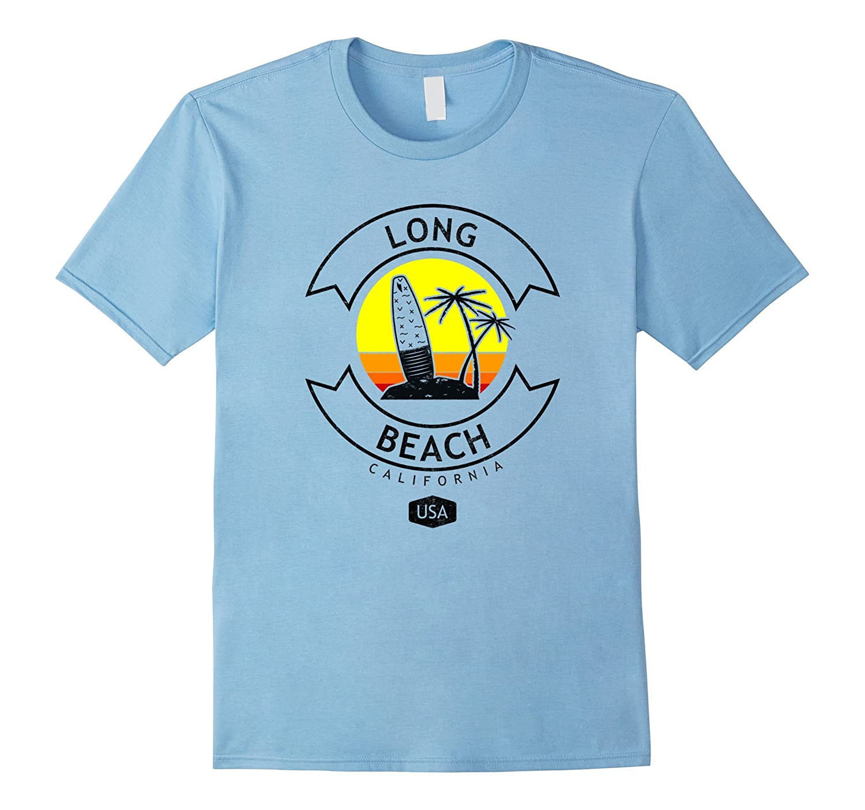 Long Beach California Surf Shirt-Awarplus