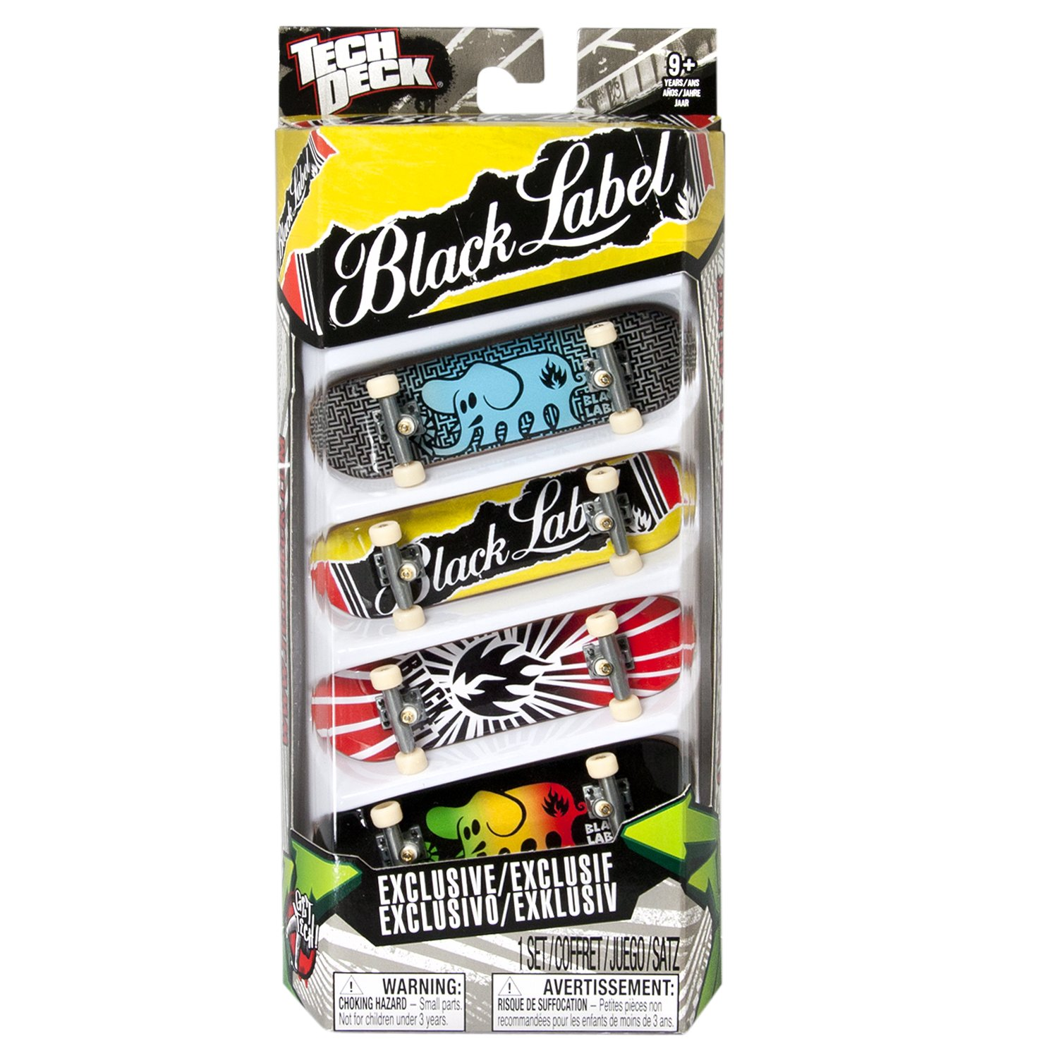 Tech Deck 96MM Fingerboards 4 Pack (Styles vary) by Spin Master (Image #3)