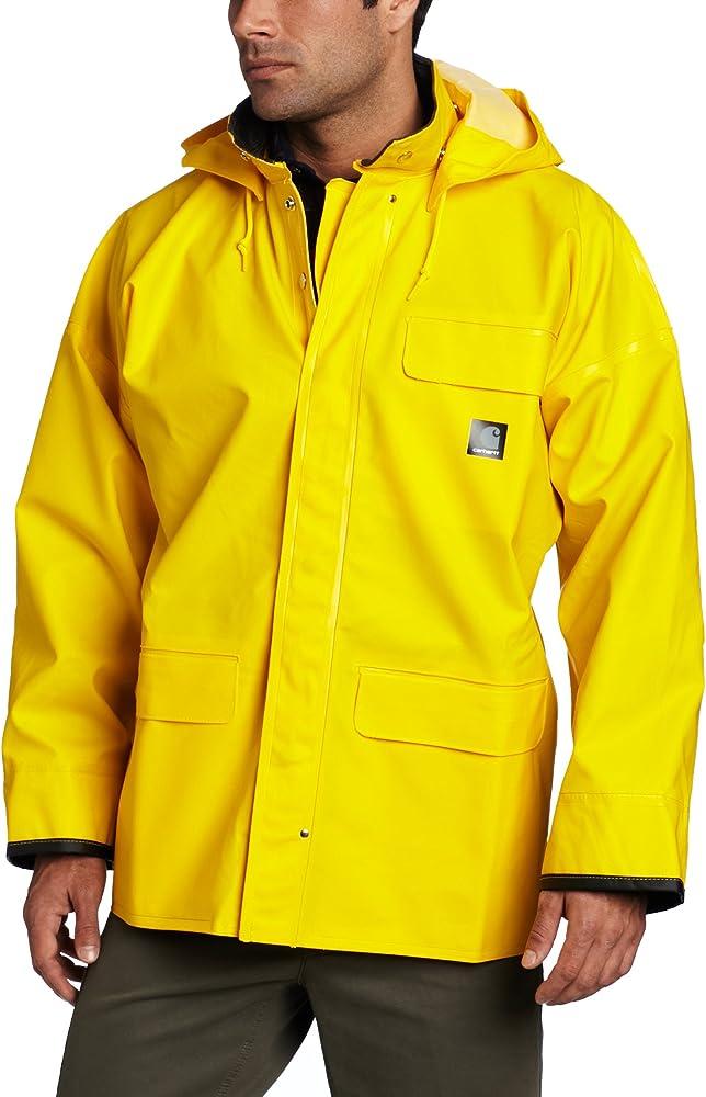 b9b4dfc12 Amazon.com: Carhartt Men's Big & Tall Surrey Coat, Yellow, Medium ...