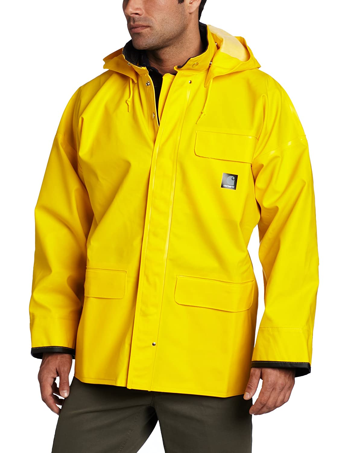 Carhartt Men's Waterproof and Wind Resistant PVC Surrey Coat Carhartt Sportswear - Mens 100100