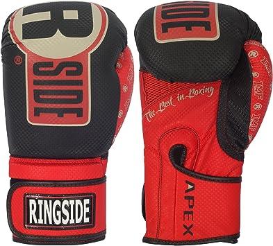 Blue//White Ringside Boxing Apex Fitness Bag Gloves