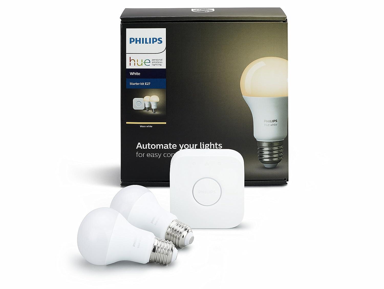 Hue Compatible Lampen : Philips hue white e27 led lampe starter set zwei lampen inkl