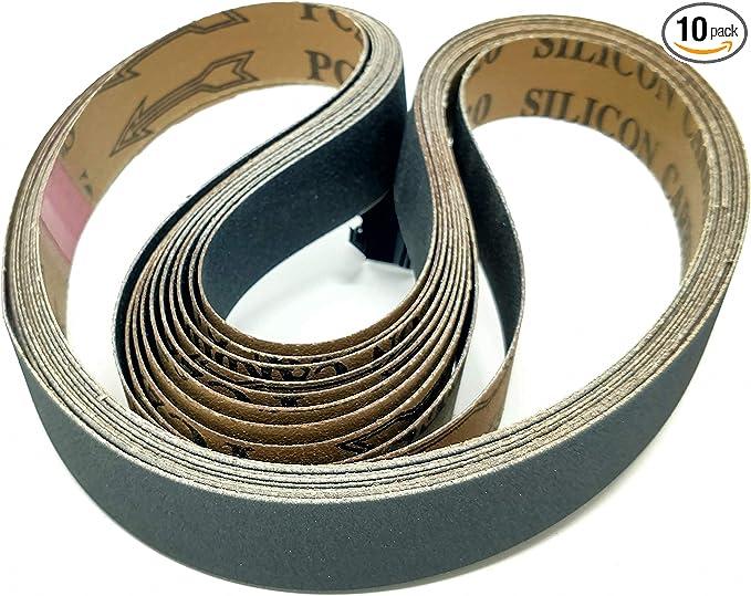 Details about  /10x Klingspor Tissue Grinding Belt Sander Belts LS307X 35x650 mm grain on choice show original title
