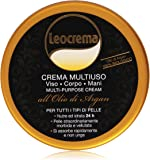 crema multiuso all'olio di argan viso mani corpo 150 ml