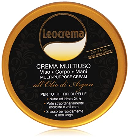 new images of cheap for discount cozy fresh Leocrema - Crema Multiuso, Viso, Corpo, Mani all'Olio di Argan - 150 ml