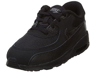0e56b5223f1e9 Nike Air Max 90 Mesh Bébé Noire Noir  Amazon.fr  Chaussures et Sacs