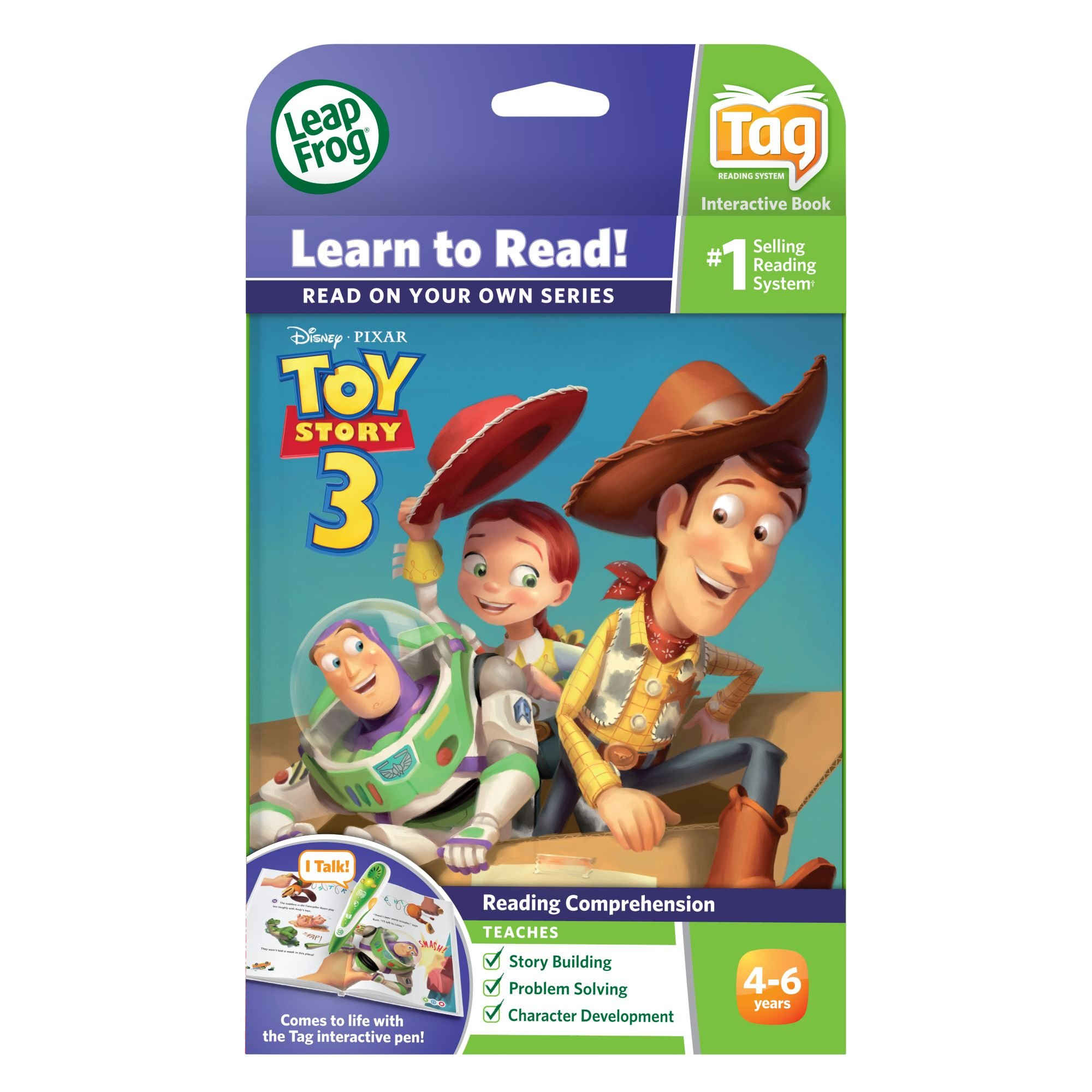 LeapFrog LeapReader Book: Disney Pixar Toy Story 3: Together Again (works with Tag) Packaging May Vary by LeapFrog (Image #3)