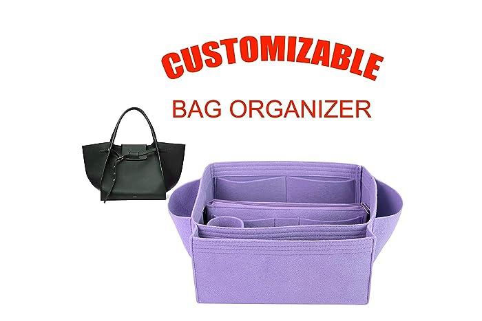0f8d2f87806de Amazon.com: For Celine Big Bag medium size Organizer purse insert, bag  shaper,: Handmade