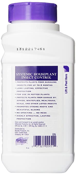 Amazon Com Bonide Product 951 Systemic House Plant Insect Control 8