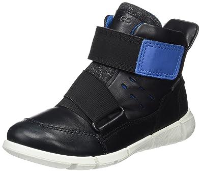 Ecco Ginnie, Sneakers Basses Fille, Noir (Black/Black), 34 EU