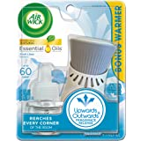 Air Wick plug in Scented Oil Kit (Warmer + 1 Refill), Fresh Linen, Same familiar smell of fresh laundry, New look, Packaging