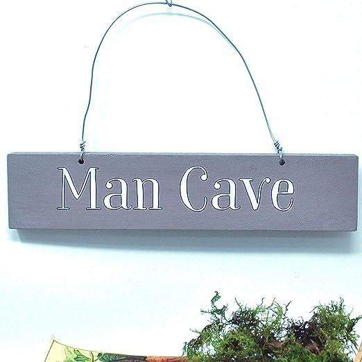 Angelic Hen Man Cave - Cartel para Colgar en Exteriores ...