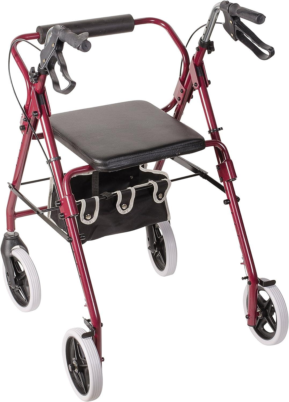 Amazon.com: Duro-Med altura del asiento ajustable andador ...