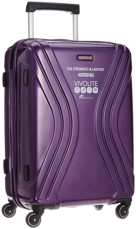 [アメリカンツーリスター] スーツケース ヴィヴォライト スピナー62 56L 3.2kg 保証付 B00JIKJDN8 パープル パープル