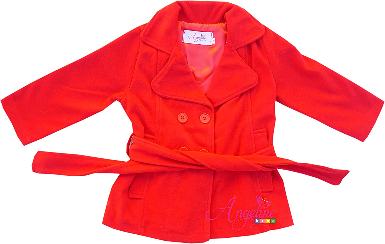 Angeline Baby Girls Winter Autumn Coat Jacket Outerwear AnJacketFur79