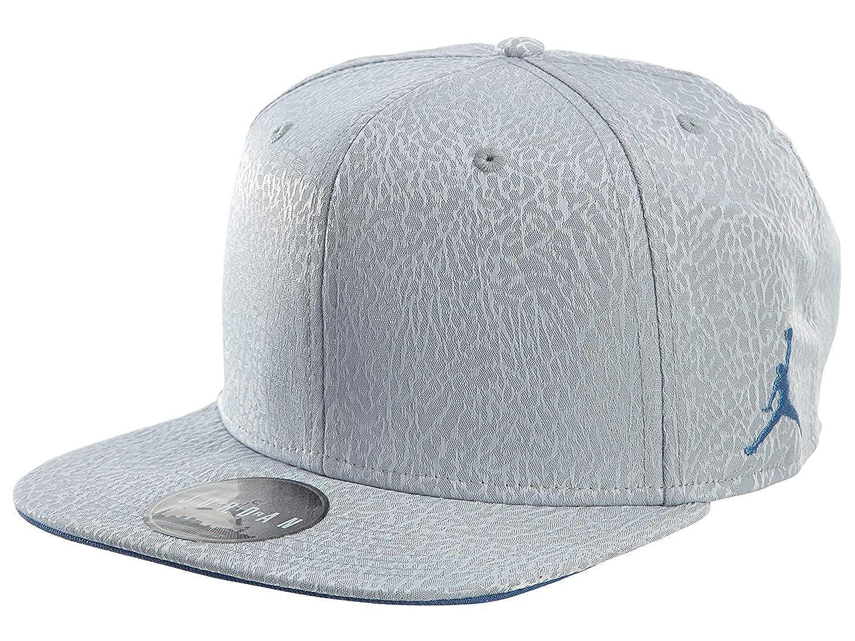 Amazon.com  Nike Mens Jordan 3 Retro Snapback Hat Cement Grey True Blue  802029-010  Sports   Outdoors 60726648fa8
