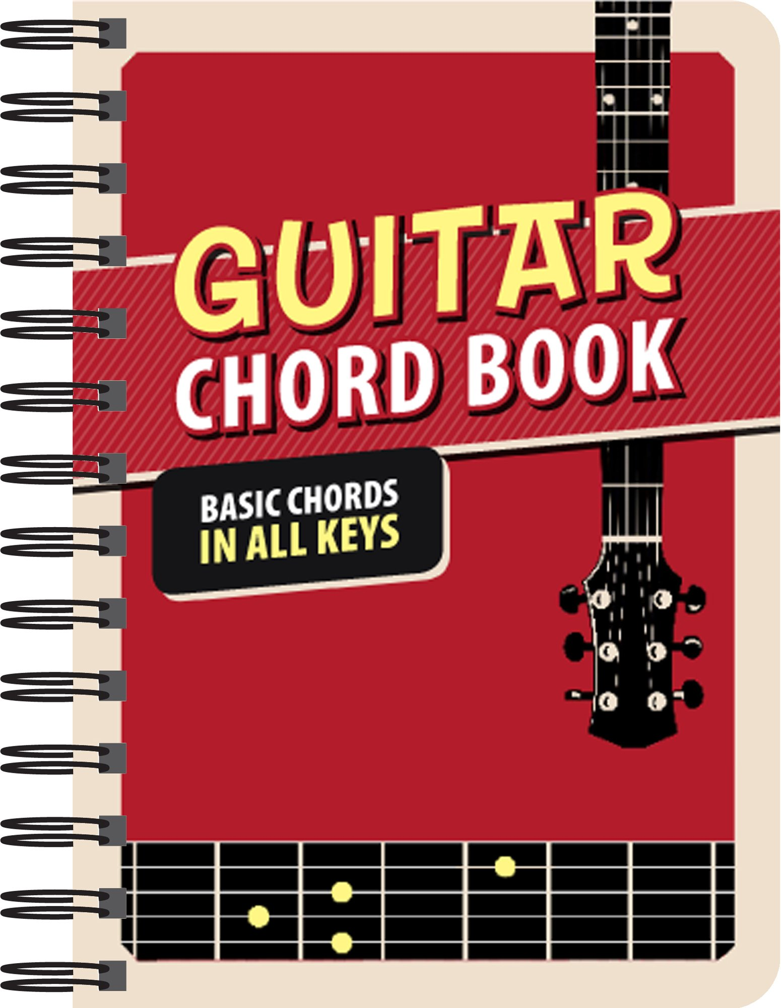 Guitar Chord Book Basic Chords In All Keys Editors Of Publications