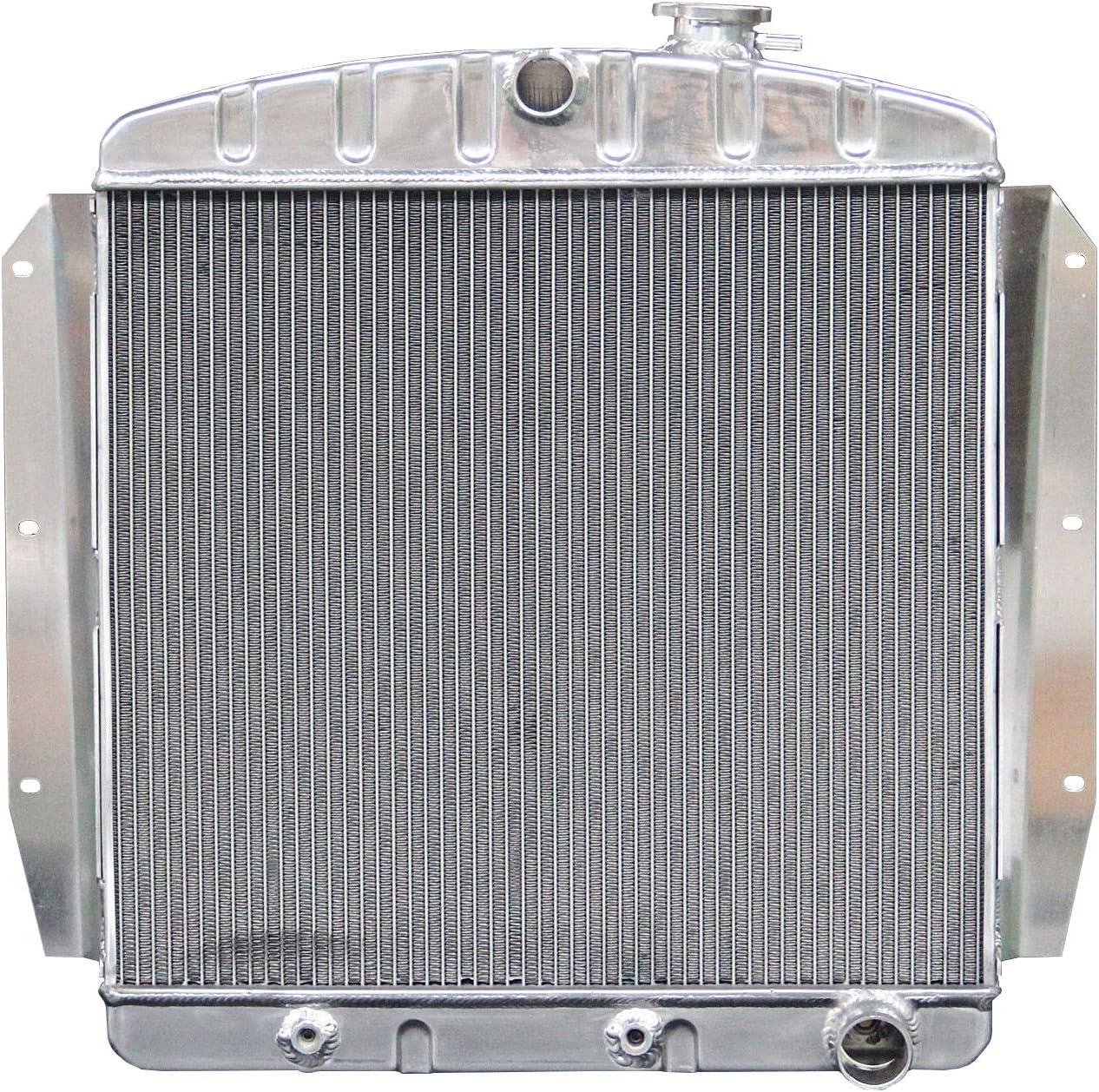 3 ROW ALUMINUM RADIATOR FIT 1955-1959 CHEVY//GMC 100//150 TRUCK PICKUP l6//V8