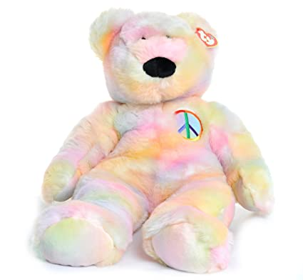 Image Unavailable. Image not available for. Color  Ty Beanie Buddy Peace  the Extra Large Bear 973f64e6f78b