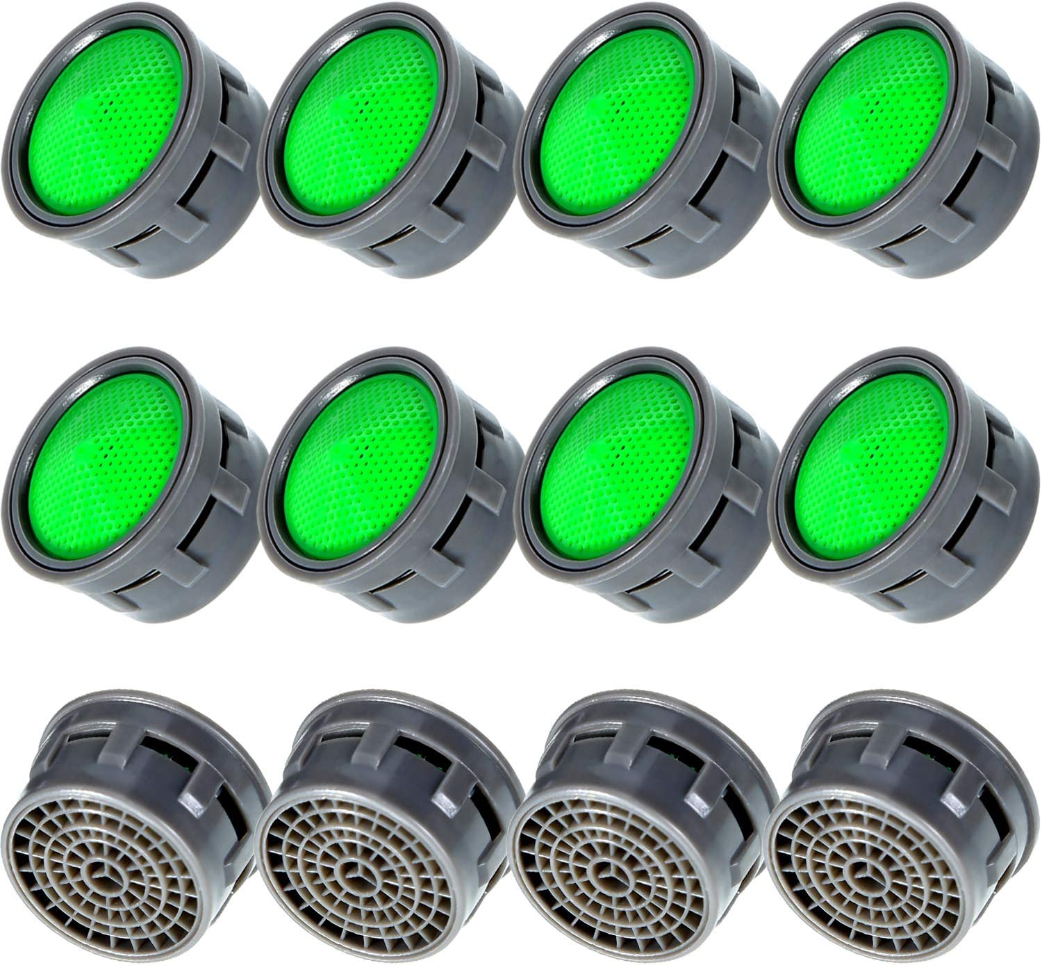 5 Pack 0.5 GPM Regular Size Water-Saving Aerator Insert Flow Restrictor Insert Faucet Aerators Replacement Parts by NIDAYE