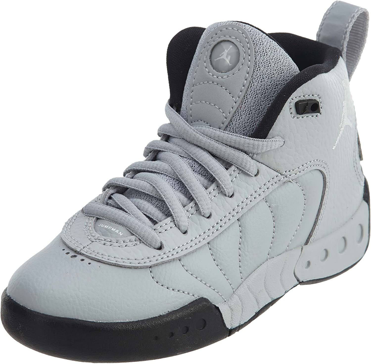 Jordan Jumpman Pro BP Little Kids Shoes Wolf Grey White Black 909419-004