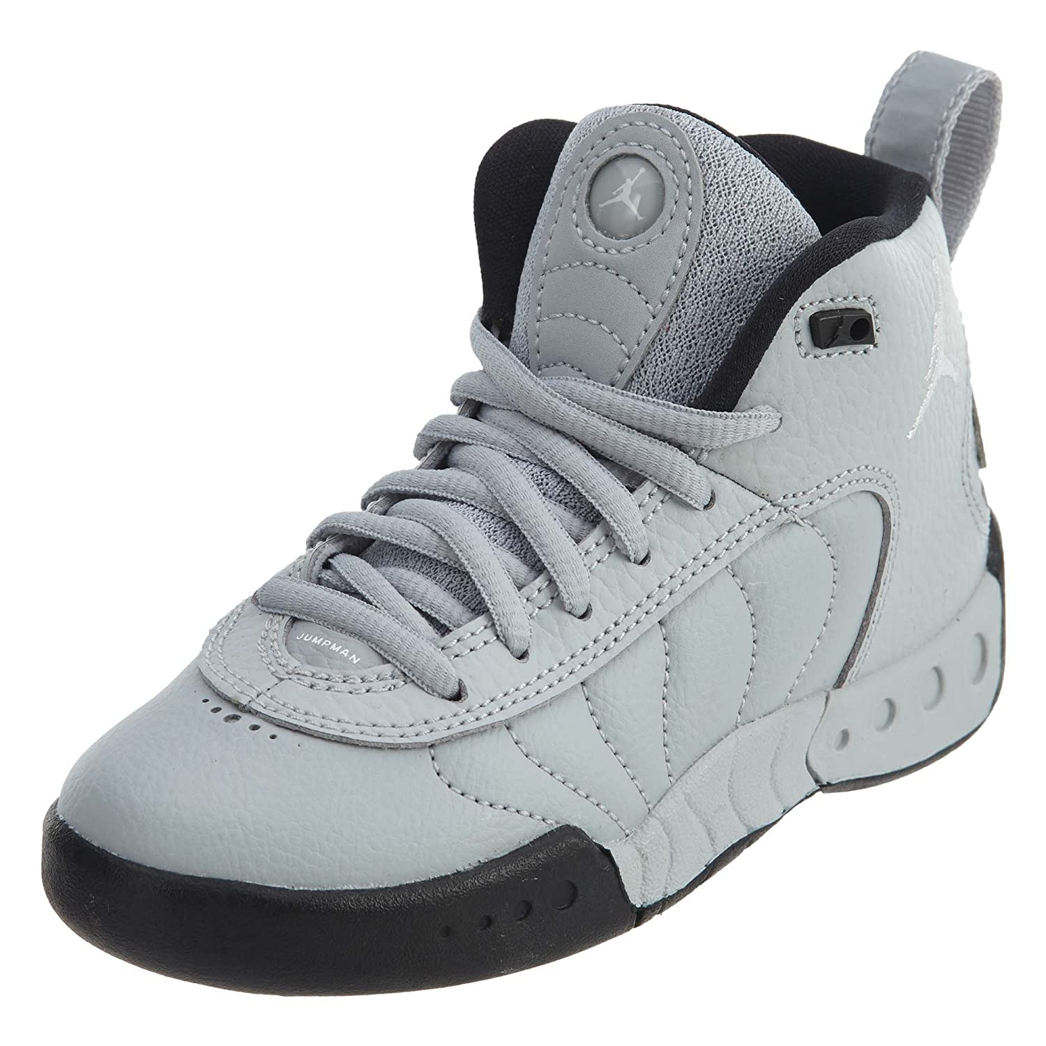 NIKE Women's Downshifter 7 B0059XJ3G0 2 M US Little Kid|Wolf Grey/White-black-white