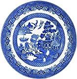 Churchill Blue Willow Plate 8  (Set ...  sc 1 st  Amazon.com & Amazon.com | Churchill Blue Willow Plate 10