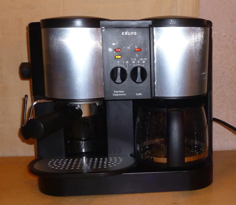 Krups cafepresso crematic Type 874 Café/Espresso Duo Cafetera ...