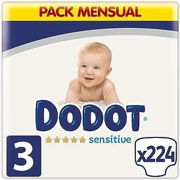 talla 3 224 unidades Dodot Activity Pa/ñales